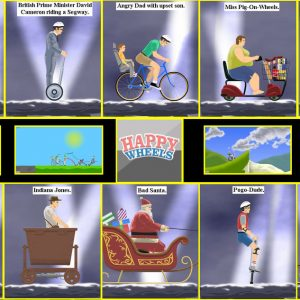 Play Second Version of Happy Wheels Online