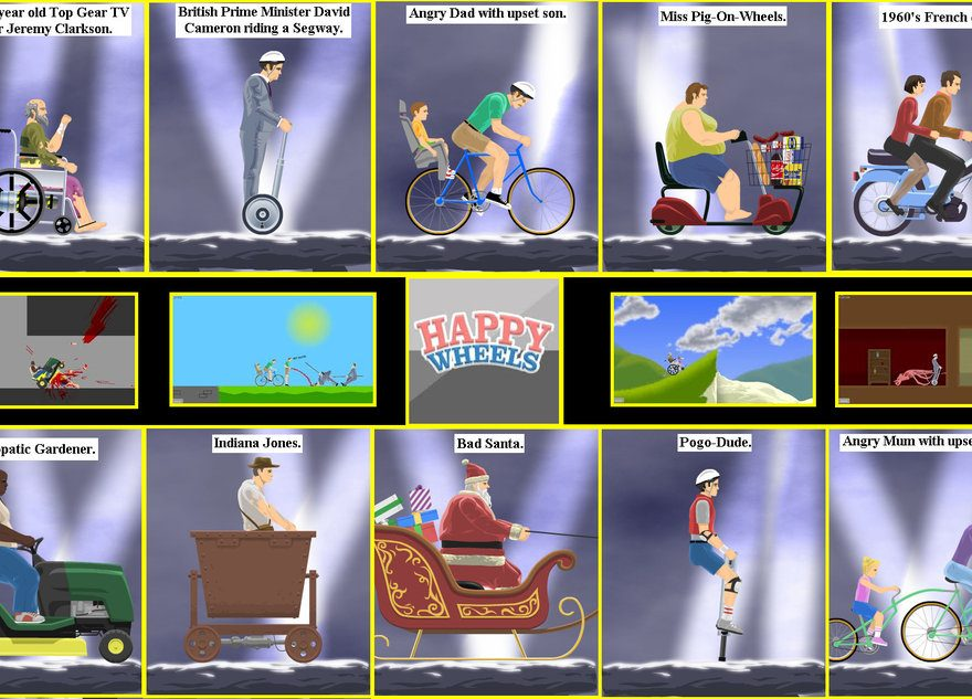 Play Second Version Of Happy Wheels Online Online Gaming News Updates